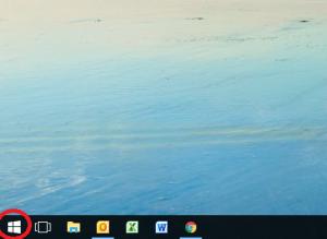 パソコンのログの確認方法①スタートボタンをクリック